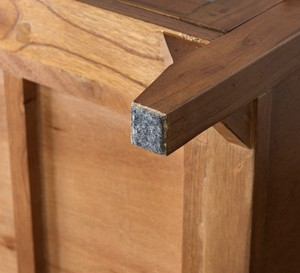 Mindy Wood TV Board 1500 / 北欧アンティークスタイル 木製 テレビ台 150cm