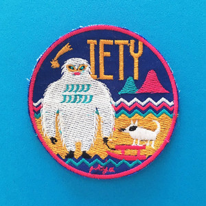 【NEW】ワッペン IETY