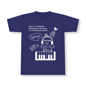 『Spiral』Tシャツ