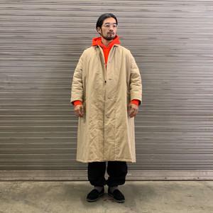 "Yarmo / Quilting Lab Coat ""BEIGE"""