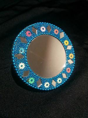 アジアン手鏡