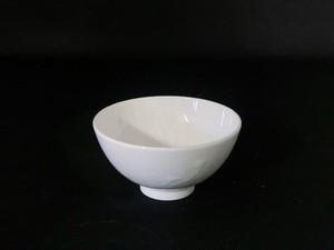 【井上祐希作】釉滴飯碗(小)WHITE