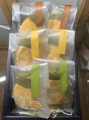 三種の蓮月庭パイナップルケーキ 箱入り6個セット