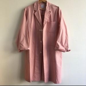 ドクターコート   Whyte Coat  Dr.Houston(light pink) ピンク スプリングコート