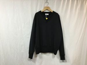 RiprapY-NECK SWEAT BLACK""