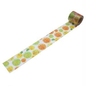 フルーツ(45mm×5m巻)YJS-28 デザイン養生テープ