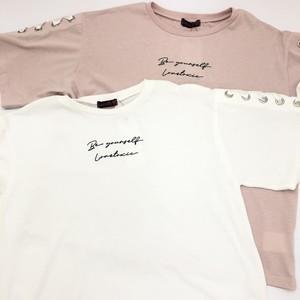 Lovetoxic ラブトキシック レースアップ半袖Tシャツ 8311278