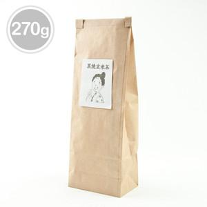 《当店人気No.1商品》ノンカフェインの黒焼き玄米茶(270グラム)