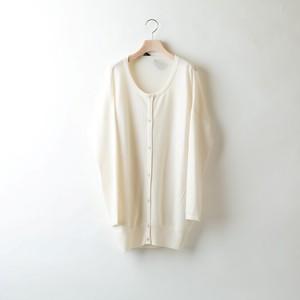 COCOON CREW CARDIGAN (White)  DBW0006