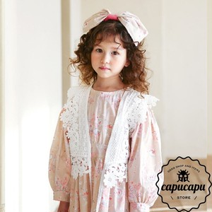 [sold out] Flower Lace vest 花柄 レースベスト