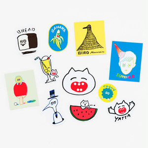 toaco sticker set 2