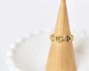 Chain motif ring【gold】