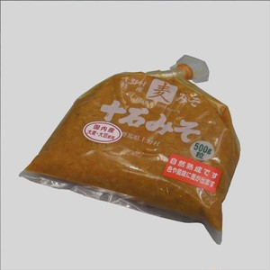 十石みそ500g粒 (国内産大豆使用))