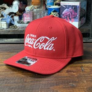 コカ・コーラ x OTTO・ウールブレンド・ツイルキャップ・レッド