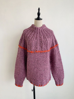 EARIH  NEMO HAND KNIT PULLOVER