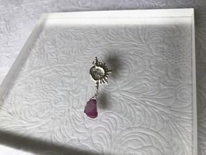 【左耳用】dazzling moon sapphire pierce   ★1piece