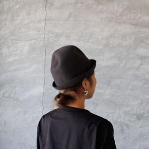 mature ha.free hat back stitch dark gray(マチュアーハ フリーハット バックステッチ ダークグレー)送料無料