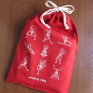 【プレゼント!】真っ赤な巾着【終了しました】