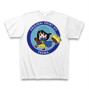お洒落なTシャツ PREMA 前身 ホワイト 綿100%