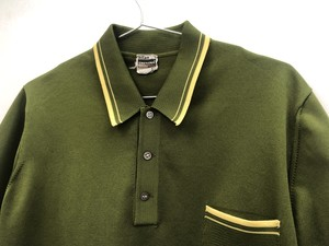 【CLIMPLINE】Knit Polo-shirts【EURO Vintage】