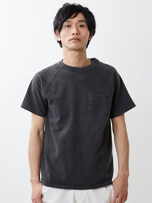 GOOD ON S/S HEAVY RAGLAN POCKET TEE