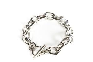 【316L O chain bracelet】/ SILVER