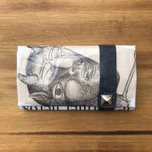 NEWSPAPER COIN CARD CASE ピカソ