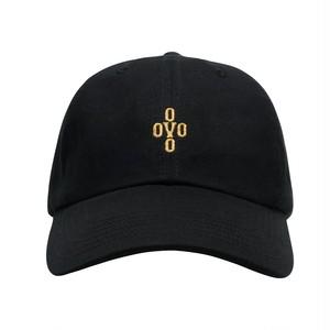 OVO(オクトーバーズベリーオウン) POM POM刺繍ロゴ スポーツキャップ ブラック