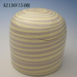 陶器製ミニ骨壷あんのん(KZ136VI54MR)無地