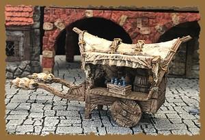 行商人の荷馬車