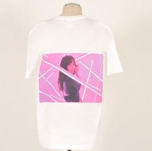 バックプリント フォトTシャツ