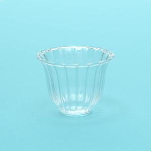 耐熱ガラス湯呑(小)/菊型