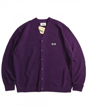 "PENNEY'S / ぺニーズ | "" THE FOX COLOR CARDIGAN "" - purple"