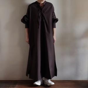 Select Item / Lace up 2way Front & Back Dress / 国内セレクト 2way レースアップ ワンピース