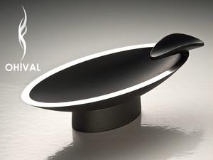 OH!VAL CIGAR ASHTRAY/オーバル 南部鉄器製シガートレイ(葉巻用灰皿・トレー)
