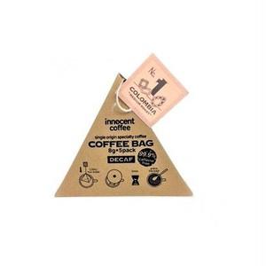デカフェコーヒーバッグテトラ  浅煎り innocent coffee