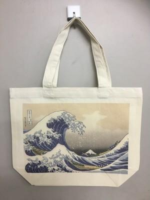 「富嶽三十六景 神奈川沖浪裏」トートバッグSサイズ