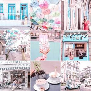 【Strawberry latteストロベリーラテ】おしゃれ 写真加工フィルター Lightroomプリセット