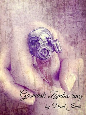 FZ03(Gas Mask Zombie ring)