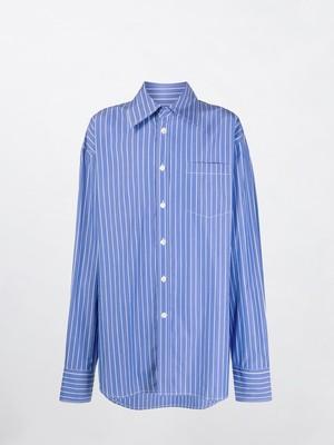 MARNI Stripe Shirt Blue CUMU0170A0