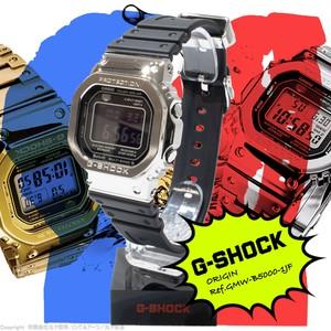 カシオ:G-SHOCK/GMW-B5000-1JF型/ORIGIN/Gショック/ジーショック