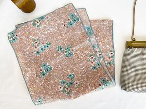 Vintage scarf <pink-asagi>