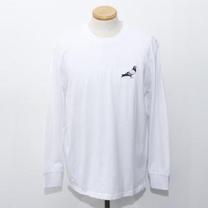 CLASSIC PIGEON L/S TEE (WHITE)