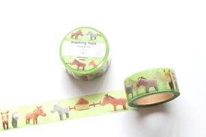 マスキングテープ(Horse farms)
