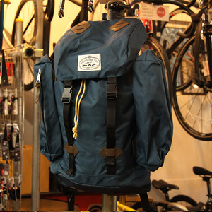 【最終セール40%OFF】POLeR OUTDOOR STUFF Retro Rucksack / Navy