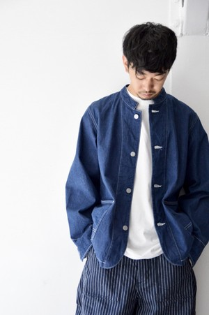 【ORDINARY FITS】OF-J014OW DENIM COVERALL 1ST one wash