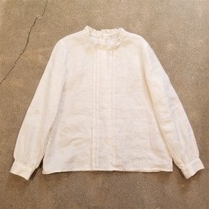 PREIN  Frill collar blouse /Made In JAPAN [P-19]