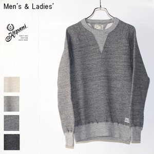 Kepani スウェットクルー Harris-Ⅱ TS8301MS (GRAY) 【Men's / Ladies'】
