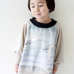 SALE 50% OFF!!!【KIDS】Swan knit ベージュ  sizeS(90-100)