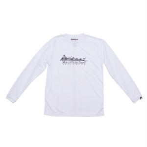 ロングスリーブドライTシャツ:ホワイト